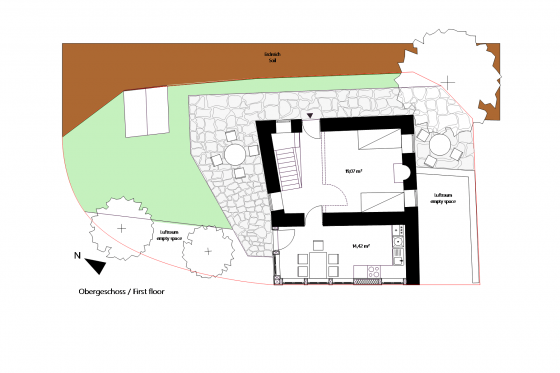 Pre planning upper floor house Tzakiris for sale in Kazaviti