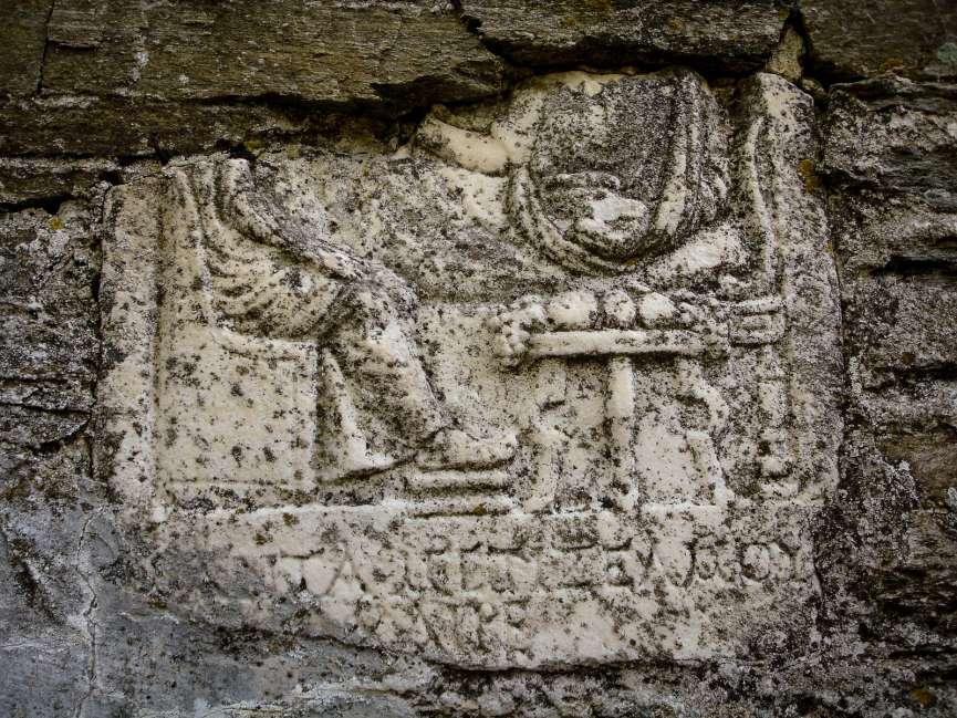Antique relief
