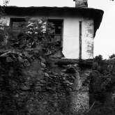 Haus im oberen Dorfteil von Kazaviti. Es steht nicht mehr.