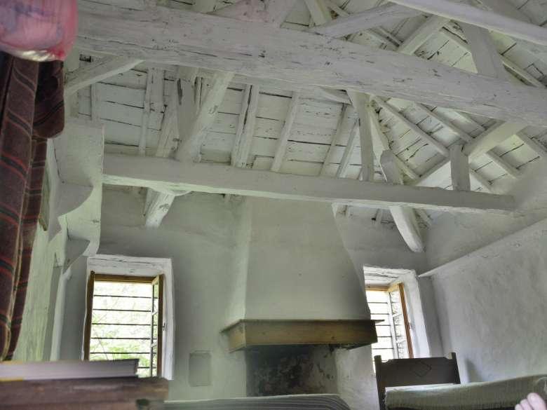 Offener Dachstuhl Schlafzimmer 1 Villa Karavousi