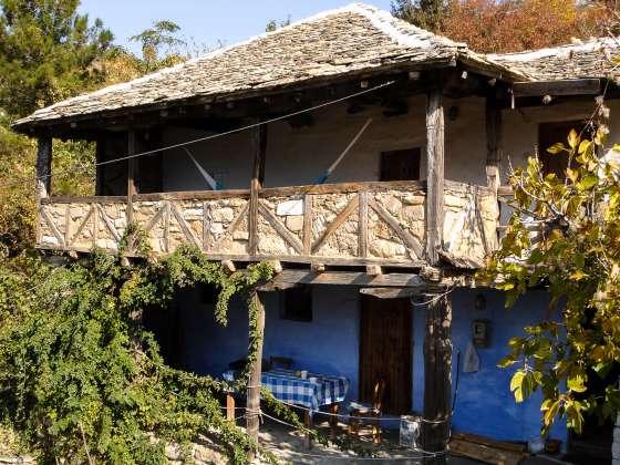 Ferienhaus Karavousi in Kazaviti Ansicht Süd